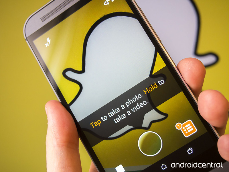 App Snapchat privacidad