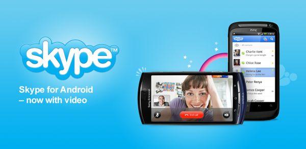 App Skype para Android