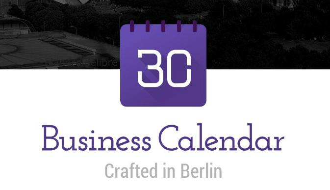 App Business Calendar