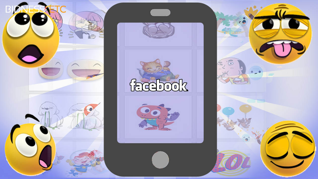 App Stickered de Facebook