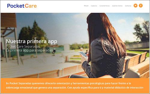 App Pocketcare Separadas