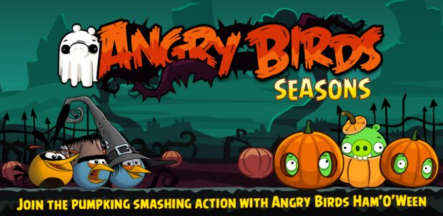 Angry Birds Season, halloween