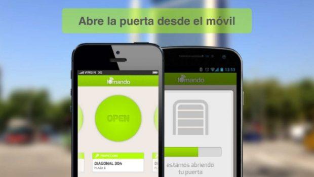 App Iomando, abre puertas