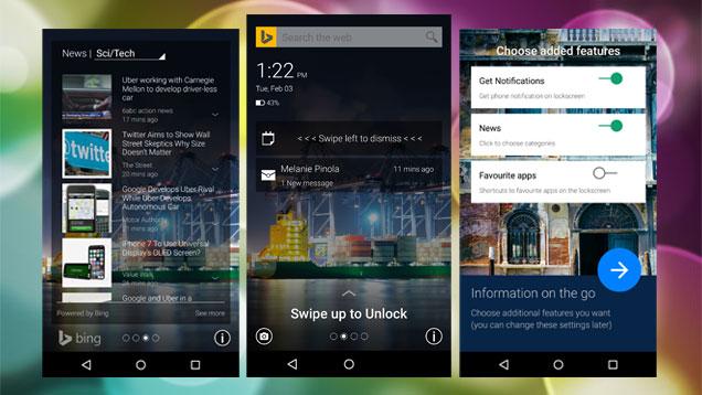 App Picturesque Lock Screen