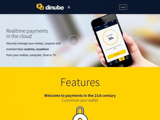 App Dinube, compras con el smartphone