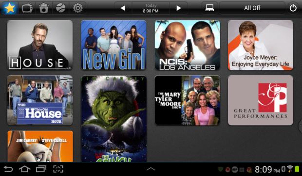 App Peel Smart, control de televisión