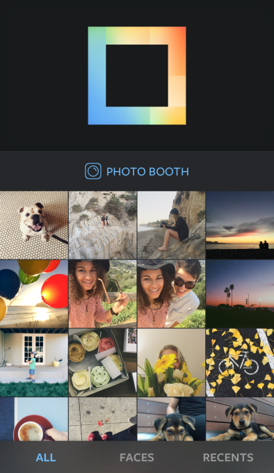 Nueva app de Instagram, Layout