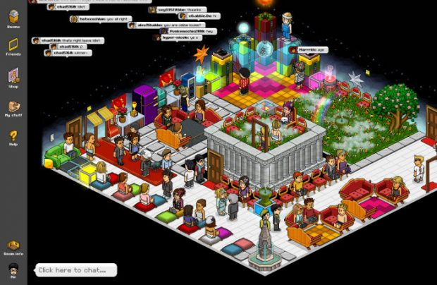 Hotel virtual de Habbo