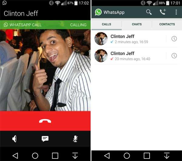 Nueva interfaz de Whatsapp para Android