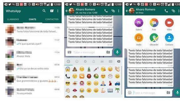 Whatsapp, nueva versión