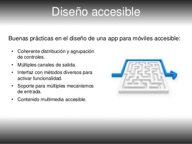 Apps justas y accesibles