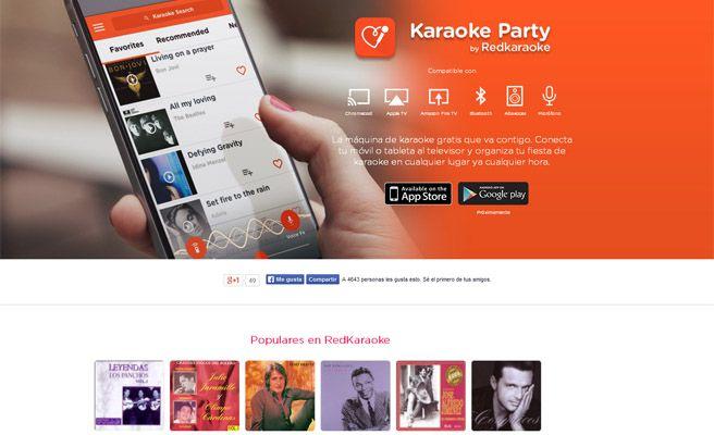 Monta un karaoke en tu casa con Karaoke Party - AppsTonic