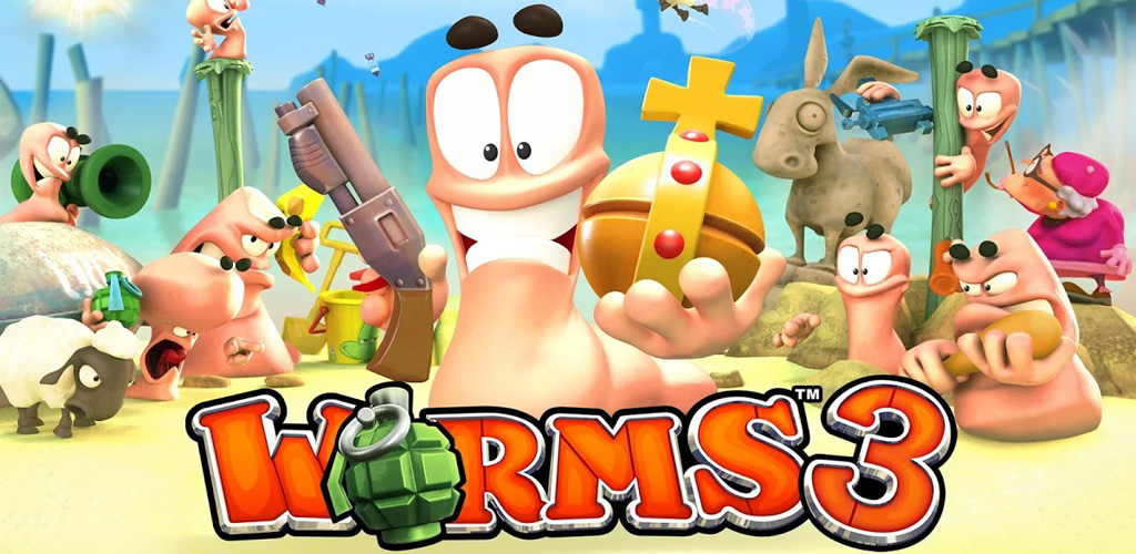 Juego Worms 3