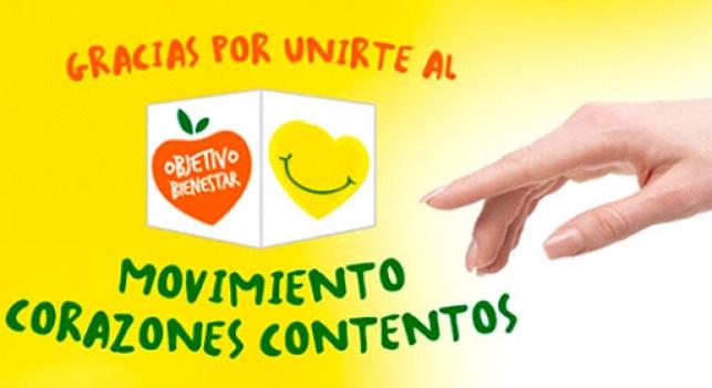 App Corazones Contentos