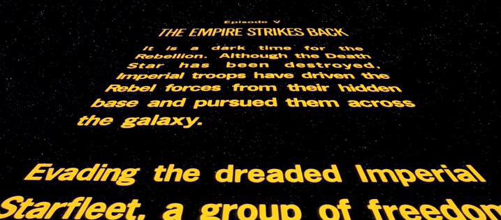 Starwars crawl creator