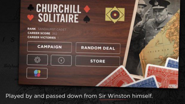 Juego Churchill Soltaire