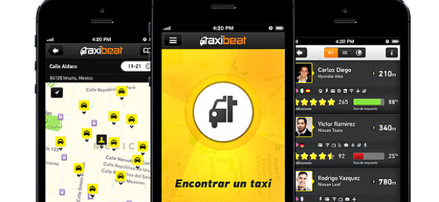 apps, taxis